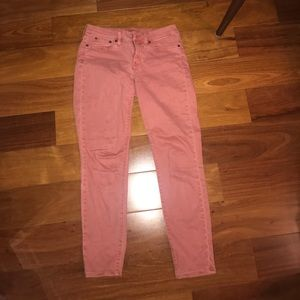 J.Crew red jeans